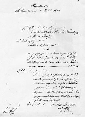 Antrag von 1901